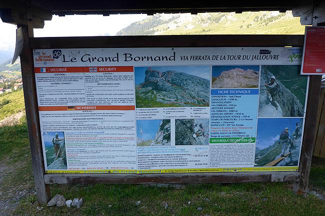 VIA FERRATA DU GRAND BORNAND LA TOUR DU JALOUVRE Haute Savoie